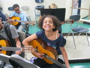 6th graders will learn basic guitar