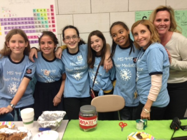 Peer Mediation Bake Sale 2013