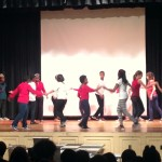 7th and 8th Graders Salsa at MS 447 Character Assemblies
