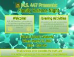 MS 447 Family Science Night