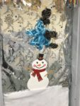 Student Artists Decorate Doors for the Holidays